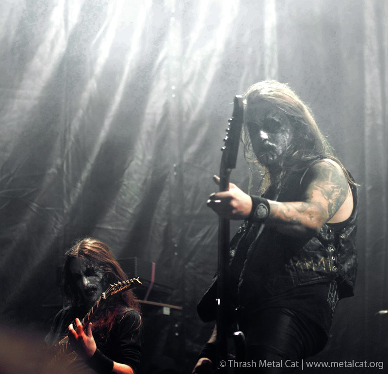 Photos from the concert of taake in stockholm at fryshuset on may 20, 2012