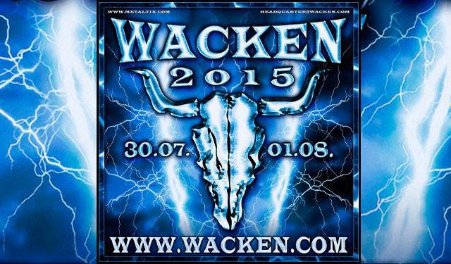 2015.07.29 Wacken Open Air (W:O:A) - Wacken, Германия