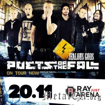 2015.11.20 - Poets Of The Fall, Москва, Ray Just Arena