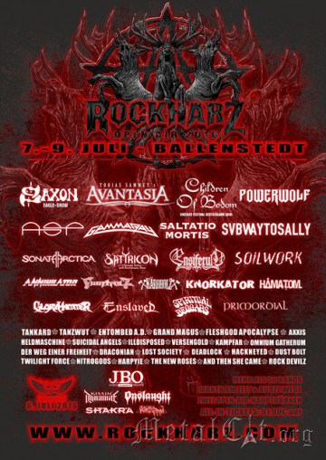 2016.06.06 Rock Harz Open Air – Ballenstedt – Германия