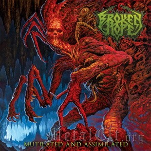 "BROKEN HOPE: лирик-видео ""Mutilated And Assimilated"""